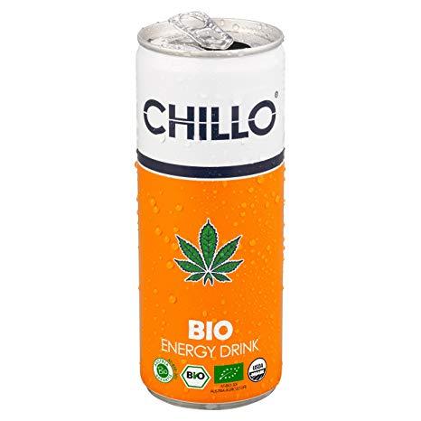 Βιολογικό ενεργειακό με καφεΐνη-κάνναβη-γκουαρανά