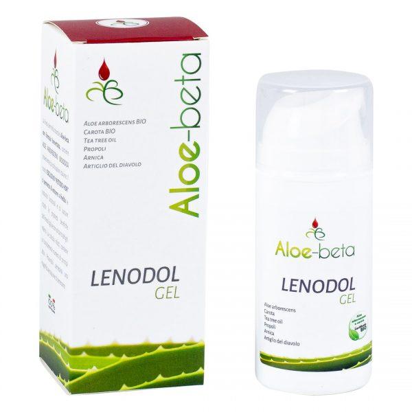 Lenodol: Τζέλ αλόης Αρμπορέσενς (arborescens) για μυοσκελετικούς πόνους και τραυματισμούς.